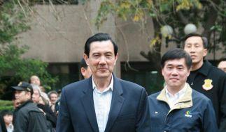 Taiwans Präsident wiedergewählt: VR erwartet Tauwetter (Foto)