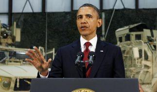 Taliban-Anschlag kurz nach Obama-Besuch in Kabul (Foto)