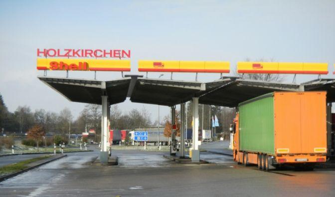 Tankstelle (Foto)