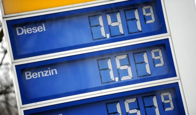 Tankstellenpreise (Foto)