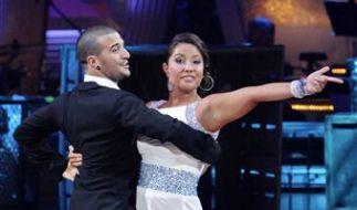 Tanzt sie wirklich so schlecht? Bristol Palin beim Auftritt. (Foto)