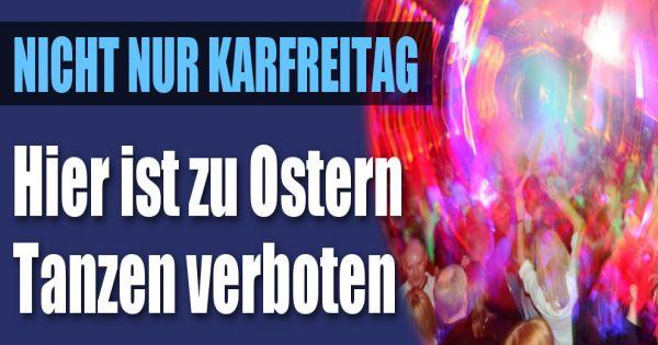 Ostern Tanzverbot