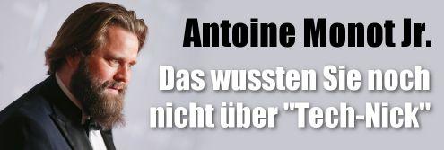Antoine Monot, Jr. mal ganz privat