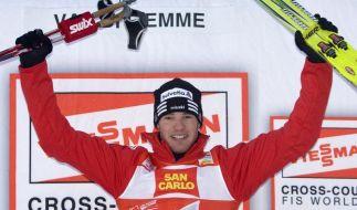 Teichmann bei Tour de Ski Dritter - Cologna siegt (Foto)