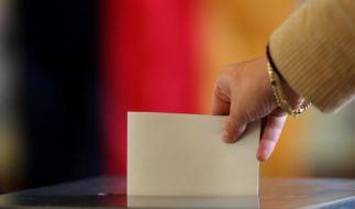 Teilnahme an Bundestagswahl bis Mittag verhalten (Foto)