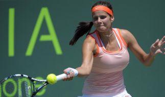 Tennis: Görges und Barthel ins Achtelfinale (Foto)