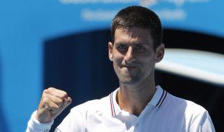 Tennis-Streit: Djokovic hält es wie Federer (Foto)