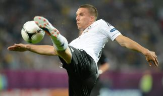 Tentakel Poldi: Lukas Podolski blieb offensiv während der EM bislang alles schuldig. (Foto)