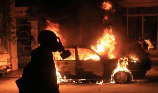 Terrorermittlungen und Krawalle in Griechenland (Foto)