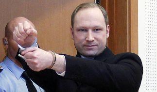 Terrorismus-Anklage für Massenmörder Anders Behring Breivik (Foto)