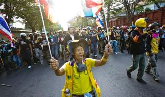Thailand Political Unrest (Foto)