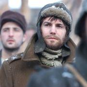 Ein Gulag-Gefangener macht sich auf einen langen Weg.
