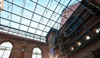 Theater-Kirchruine nach Sanierung wieder geöffnet (Foto)