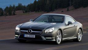 Themendienst Auto und Verkehr: Mercedes SL (Foto)