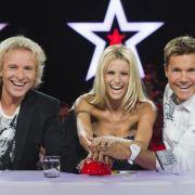 Thomas Gottschalk, Michelle Hunziker und Dieter Bohlen bilden die neue Jury der RTL-Show Das Supertalent.
