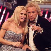 Thomas Gottschalk und Michelle Hunziker haben ihre erste Staffel Supertalent hinter sich gebracht. Hat Gottschalk jetzt schon mit der Sendung abgeschlossen?