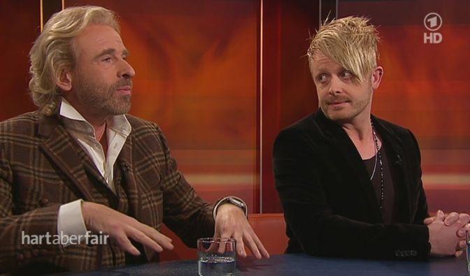 Thomas Gottschalk und Ross Antony diskutierten bei Plasberg. (Foto)
