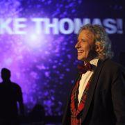 Die letzte Wetten, dass..?-Show mit Thomas Gottschalk war ein emotionaler TV-Höhepunkt 2011.