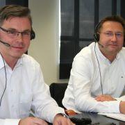 Thomas Jäckel, Experte für Kraftfahrtversicherungen und Ralf Dünow vom Bundesverband Deutscher Versicherungskaufleute e.V. berieten die Anrufer im neuesten Lesertelefon.