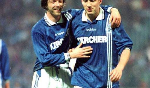 Thomas Linke & Marc Wilmots (Foto)