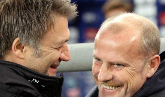 Thomas Schaaf und Dietmar Beiersdorfer (Foto)