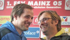 Thomas Tuchel und Jürgen Klopp (Foto)