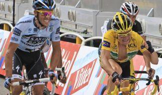 Thomas Voeckler und Alberto Contador (Foto)