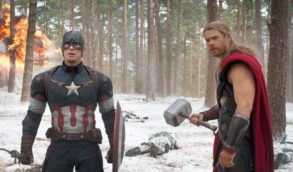 Thor in seinem typischem Look.