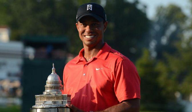 Tiger Woods unaufhaltsam zum 74. Sieg (Foto)