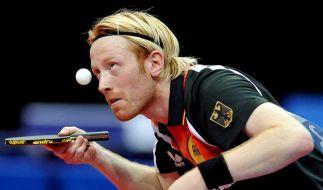 Tischtennis-DM: Süß verliert im Halbfinale (Foto)