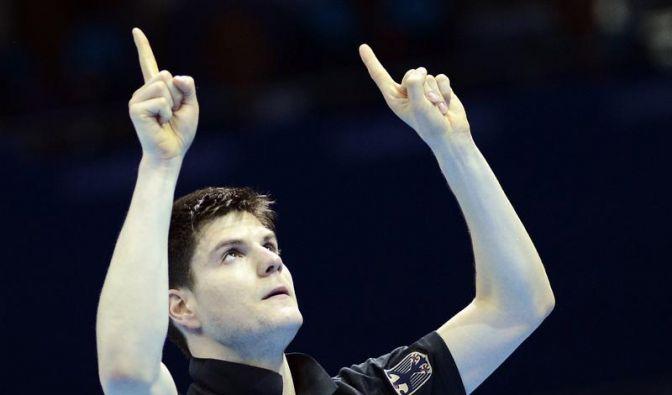 Tischtennis-Profi Ovtcharov im Halbfinale (Foto)