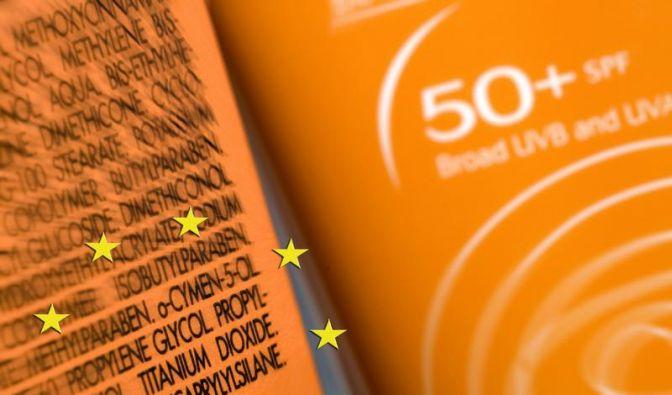 Titandioxid in Sonnencreme: Ab 2012 müssen Nanomaterialien in Kosmetik EU-weit angegeben werden. (Foto)