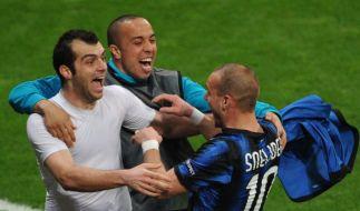 Titelverteidiger Inter jubelt: «Historische Nacht» (Foto)