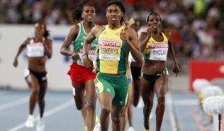 Titelverteidigerin Semenya im 800-Meter-Finale (Foto)