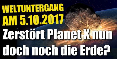 Planet X bringt Weltuntergang