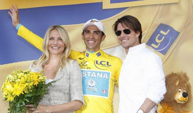 Tom Cruise, Cameron Diaz und Alberto Contador (Foto)
