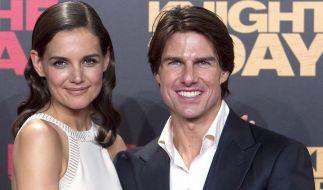 Tom Cruise und Katie Holms stehen möglicherweise vor der Scheidung. US-Medien berichten vom Ehe-Aus nach sechs Jahren. (Foto)