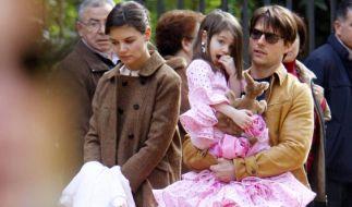 Tom Cruise zahlt nach seiner Scheidung von Katie Holmes nur Unterhalt für Tochter Suri. (Foto)