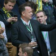 Tom Hanks beendet Dreharbeiten in Berlin (Foto)