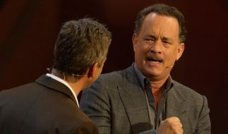 Tom Hanks bei «Wetten, dass..?»: Das Showkonzept machte den Schauspieler unzufrieden. (Foto)
