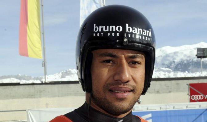 Tonga-Rodler Banani ist der Exot bei Rodel-WM (Foto)