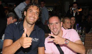 Toni schon römisch - Ribéry bald königlich? (Foto)