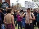 Topless Protest (Foto)