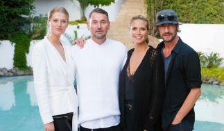 """Topmodel-Unterstützung: Toni Garrn zu Gast bei der zweiten Folge von """"Germany's next Topmodel"""". (Foto)"""