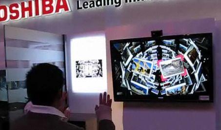 Toshiba Gestensteuerung (Foto)