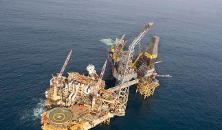 Total: Gas tritt oberhalb des Wasserspiegels aus (Foto)