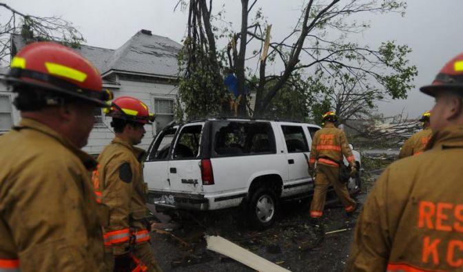Tote durch Tornado in Oklahoma - Opferzahl in Joplin bei 124 (Foto)