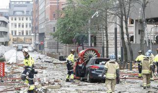 Tote und Verletzte bei Terroranschlägen in Norwegen (Foto)