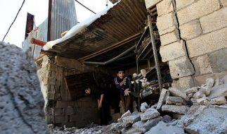 Tote und Verletzte nach Angriffen auf Gaza (Foto)