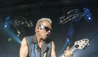Tourauftakt Scorpions (Foto)